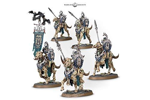 Games Workshop Warhammer 40,000: OSSIARCH BONEREAPERS KAVALOS DEATHRIDERS