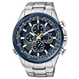 腕時計 シチズン Citizen Men's AT8020-54L Eco-Drive Blue Angels World Chronograph A-T Watch【並行輸入品】