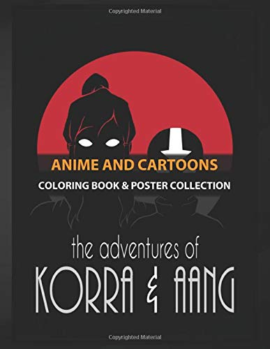 Coloring Book & Poster Collection: Anime And Cartoons Adventures Of The Avatars Cartoons