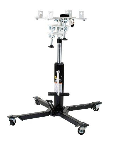 Omega 41003 Black Telescopic Transmission Jack - 1000 lb. Capacity