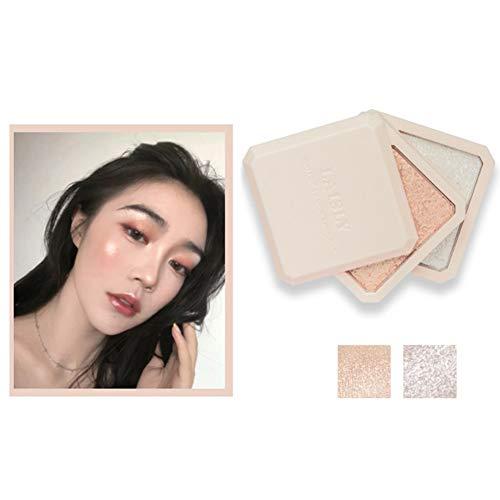 Kybbe Poudre Brillante Nouvelle Surligneur Double Couche Ombre Maquillage Du Visage Bronzer Illuminateur Shimmer Maquillage Cosmétique