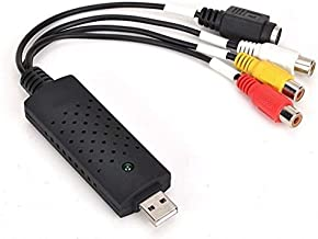 VHS to Digital Converter USB 2.0 Video Audio Capture Card Box VCR DVD TV To Digital Adapter