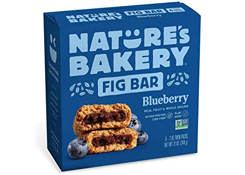 Nature's Bakery Blueberry Real Fruit Whole Grain Fig Bar - 6 Bars (12 oz.)