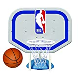 Poolmaster 72931 NBA Logo Pro Rebounder-Style Poolside Basketball Game, white