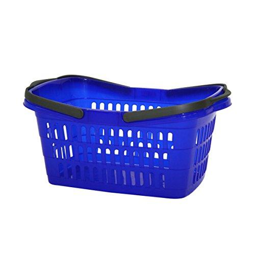 Wäschekorb 60 cm mit Tragegriffen Korb Kleidungskorb Haushaltskorb