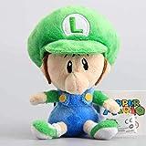 Stuffed Plush Toy Super Mario Baby Mario & Luigi Plush Dolls Cute Mario Stuffed Toys Kids Birthday 15 cm