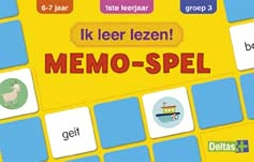 Ik leer lezen! Memo-spel (6-7 j.): spelenderwijs woordjes leren lezen