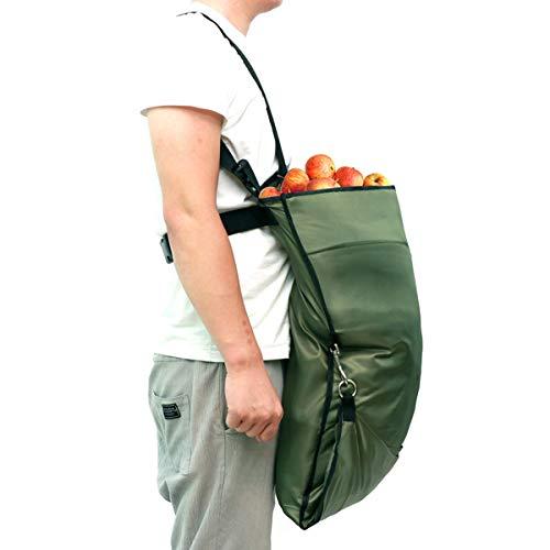 Ponacat Garten-Obstpflücker-Tasche, Gemüse-Picking-Schürze, Tasche, Aufbewahrungstasche