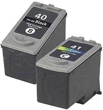 1 x Set ( 1 x Black 1 x Colour ) Professionally Maximum rellenared tinta reemplazo For CANON Pixma mp180 impresora, PG 40 CL 41 tinta CANON MultiPass 450, MP150, MP160, MP170, CANON Pixma iP1200, iP1300, iP1600, iP1700, iP1800, iP1900, iP2200, iP2400, iP2500, iP2600, ip6210d, ip6220d, MP140, MP150, MP160, MP170, MP180, MP190, MP210, MP220, MP450, MP450X, MP460, MP470, MX300, MX310, CANON Pixma Fax jx200, jx210p, jx500, jx510p impresora,