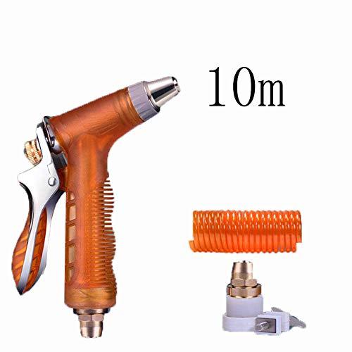 Pkfinrd telescopische waterpijp, huishoudelijke borstel mondstuk, hoge druk,@10M, tuinslang mondstukken spuitpistolen, legering, Irrigatie gereedschap