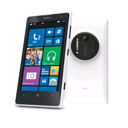 Nokia Lumia 1020 SIMフリー 32GB 海外携帯 (White ホワイト)