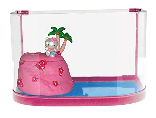 Croci Hello Kitty Décor Boîte Tortue avec Ile pour Aquariophilie
