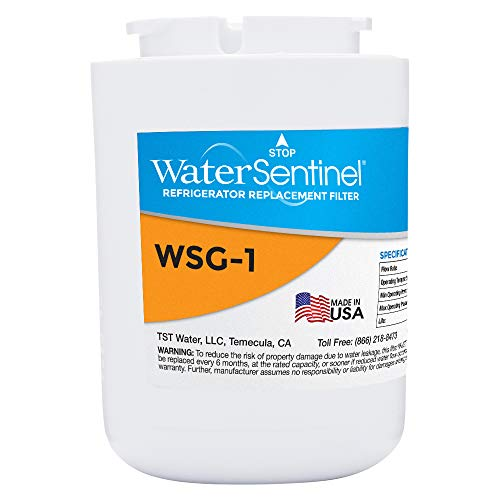 WaterSentinel WSG-1 Made in USA Refrigerator Replacement Filter: Fits GE MWF Filters
