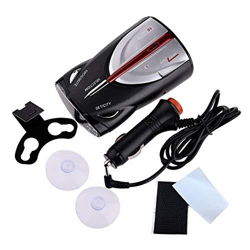 Sensor auxiliar para radar de marcha atrás. 12V láser anti detector de radar del coche de 360 grados llevó Display Policía Velocímetro alerta de voz/alarma, sensor de