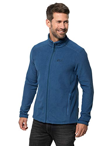 Jack Wolfskin Herren Midnight Moon Men Fleecejacke, Indigo Blue, L