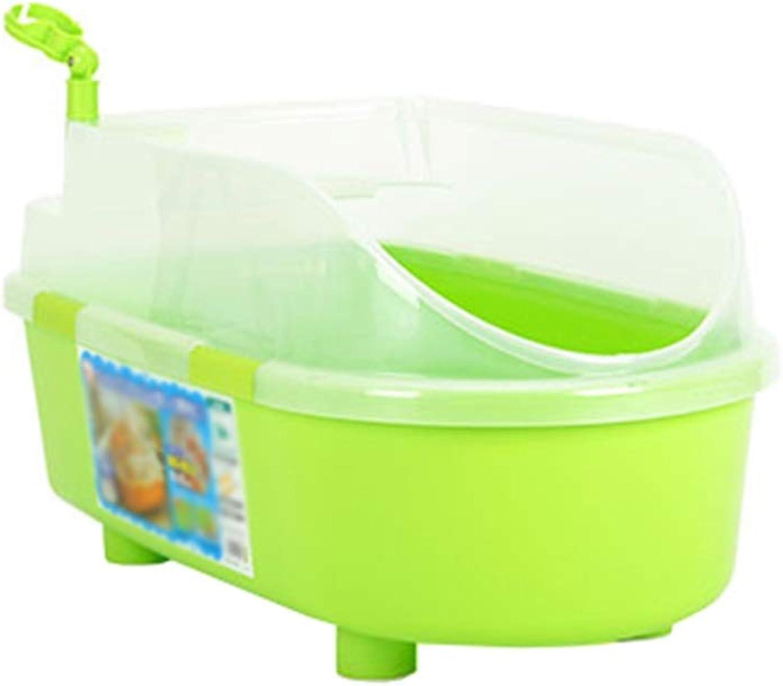 Ryan Dog Bath Tub, Dog Bathing Green Plastic Basin Cat Bathtub Pet Medicine Bath Basin For Small And Medium Sized Dogs Swimming Pool BathTub (color   Green2)
