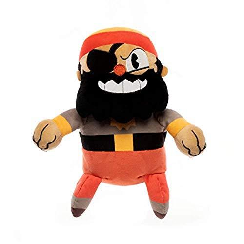 Funko–Peluche Color Cuphead Color Captain brineybeard, Multicolor, 33297