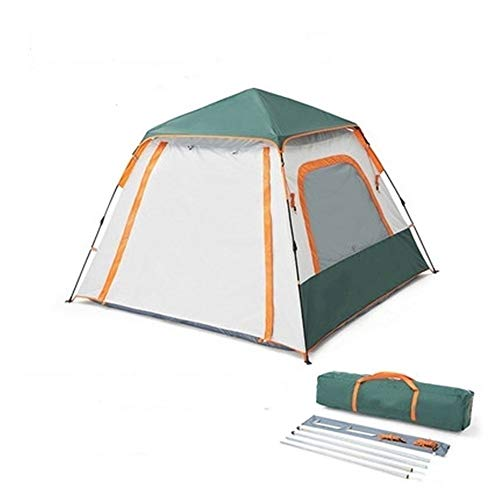 YAOHONG Outdoor tents, folding portable tent sunscreen 3-4 tents, tent camping equipment automatically opens the Travel tent (Color : D)