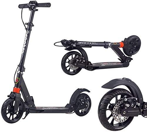 Patín Eléctrico Kick adultos scooter con ultra ancho ruedas grandes y el...