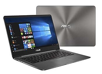 "ASUS ZenBook 14 Thin and Light Laptop - 14"" Full HD WideView 8th gen Core i7-8550U Processor 16GB DDR3 512GB SSD Backlit KB Fingerprint Reader Grey Windows 10 Home - UX430UA-DH74"