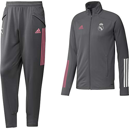 Chándal/Adidas:REAL TK SUIT L Gris