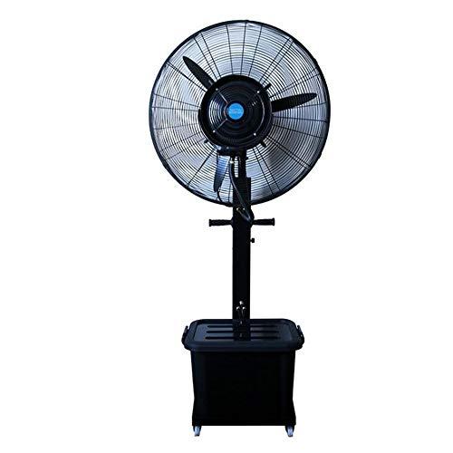 YUYI Climatizadores evaporativos Ventilador MEIDUO Refrigeración Fábrica Industrial de nebulización por pulverización Humidificador de atomización 260W / 360W / Oscilante / 3 velocidades Función de O