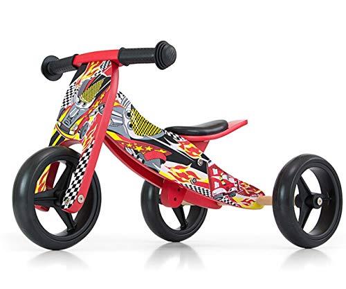 Milly Mally Jake Three-Wheel Balance Bike