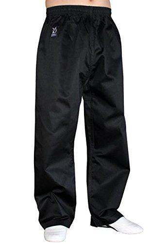 DOUBLE Y Pantalon Noir Arts Martiaux 160 cm