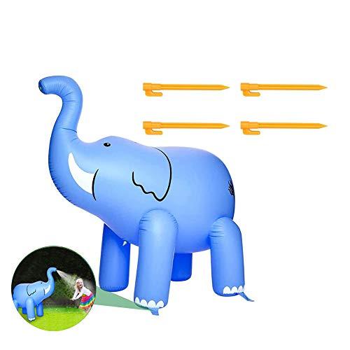 FDYD Elefante de riego, Agua Inflable Elefante Juguetes al Aire Libre Inflable de riego de la muñeca del PVC
