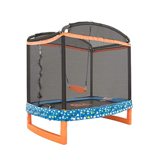 Trampoline Swing Household Bounce Bed Jumping Bed Toy Crawling mat...