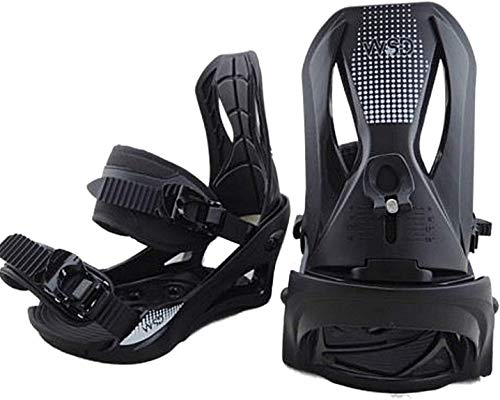 WSD Snowboard bindings Men's Standard Black Size Large fit 9-14 US Boots 2019 New