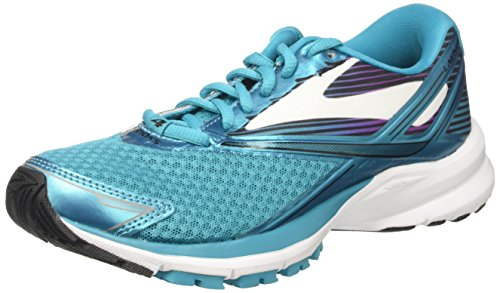 Brooks Women's Launch 4 Training Shoes, Multicolor (Tealvictory/White/Black), 5 UK