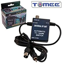 New SNES / NES / Genesis Tomee 3-In-1 Universal RF Unit Auto Switch From Gami...