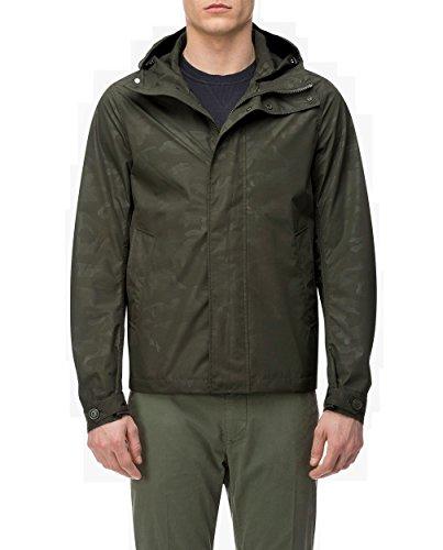 WOOLRICH WOCPS2563 699 Camou Rudder Jacket Summer Military Green, Blouson, Grün XL