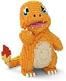 No WEIbeta DIY Building Blocks Set Building Block Set 2157 + Pcs Anime Mini Blocks DIY Juguetes Little Fire Dragon 3D Puzzle DIY YJ