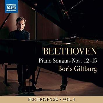 Beethoven 32, Vol. 4: Piano Sonatas Nos. 12-15