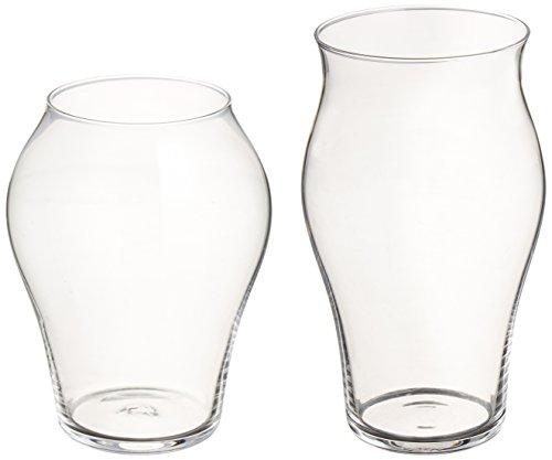 廣田硝子 究極の日本酒グラス 蕾・花グラス 2個セット INT-3