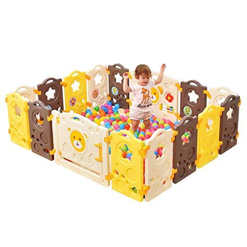 Cerca de juegos para niños Valla Valla de la estrella del chocolate del bebé de seguridad del niño interior Zona de juegos al aire libre del bebé Parque infantil Kids Safety Play Center Yard casa con