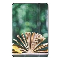 Sepikey iPad 10.2 2019/iPad カバー, 耐摩耗性 耐衝撃 三段角度調節 高級PU 指紋防止 3つ折り スタンド機能付き プロテクターケース iPad 10.2 2019/iPad Case-秋 80
