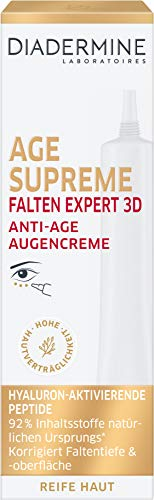DIADERMINE Age Supreme Falten Expert 3D Augenpflege Anti-Age Augencreme, 1er Pack ( 1 x 15ml)