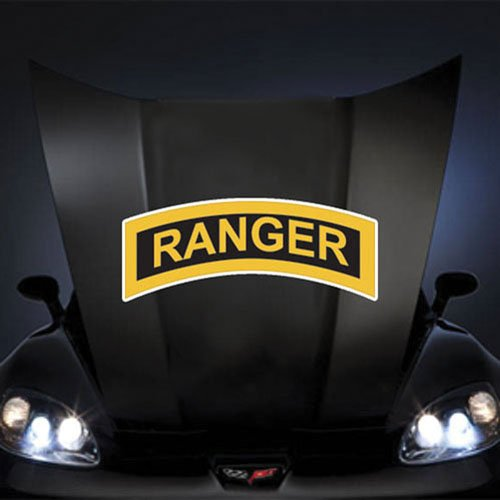 US Army Tab Ranger 20' Huge Decal Sticker