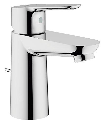 GROHE BauEdge | Badarmaturen - Einhand-Waschtischbatterie, DN 15 S-Size | Einlochmontage | chrom | 23328000