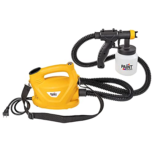 Paint Zoom Paint Sprayer | Powerful & Durable 700-watt Spray Gun Tool HVLP Sprayer for Interior & Exterior Home Painting and DIY Home Improvement Projects | 3 Spray Patterns