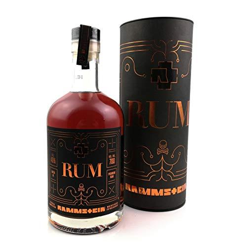Rammstein Rum offizielles Fanprodukt der Band Rammstein Flasche 0,7 Liter
