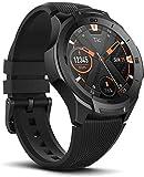 Ticwatch Montre connectée Mobvoi S2, sous Google Wear OS, Smartwatch de Fitness pour Les Aventures en Plein air, étanchéité 5 ATM,adaptée à la Natation, résistante, Compatible avec iPhone et Android