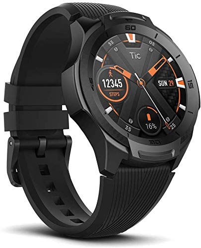 Ticwatch Smartwatch S2, Wear OS von Google Fitness Uhr, für Outdoor-Abenteuer, 5...