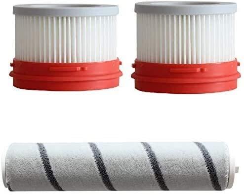NLRHH Bürstenfilter, 3-teiliges Sieb, Teppichrollen-Set, Ersatzzubehör für Dreame V9 V10 Haushaltsstaubsauger