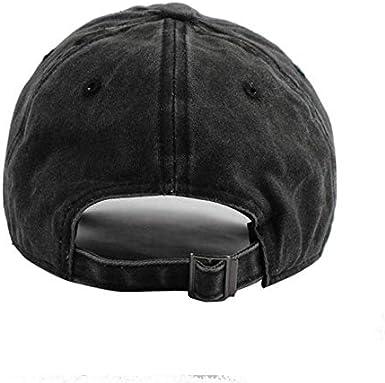 JONATHAN FORSTER Te-SLA Logo Symbol Unisex Adjustable Vintage Cotton Denim Baseball Cap Dad Hat Black