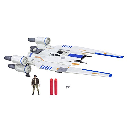 Star Wars - Nave de Batalla U-Wing Fighter Rogue One Rebel, Figura 9 cm (Hasbro B7101EU4)