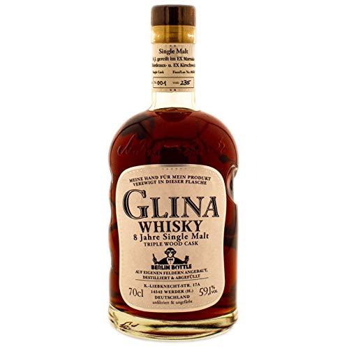 Glina Whisky BerlinBottle Single Cask 8 YO Triple Wood 59,1% Vol. (1 x 0,7l)